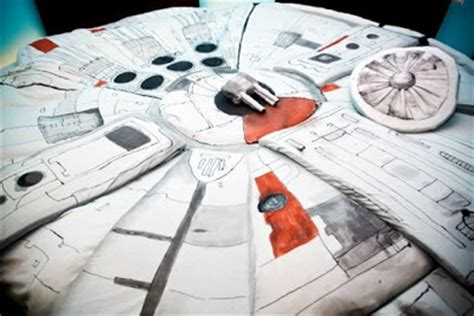 Millennium Falcon Bed by Millenium Falcon Bed Damn Cool Pictures