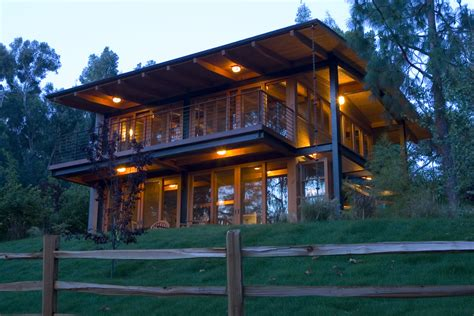 Color Schemes For Homes Interior by Deck Rail Lighting With Slope Exterior Rustic And