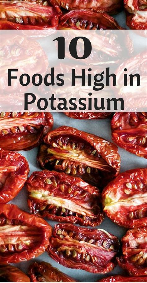 Detoxing Potassium by 63 Best Healthy Stuff Images On Health Foods