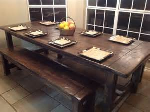 table bench table