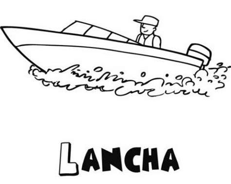 barco animado blanco y negro dibujos de una lancha para colorear dibujos de barcos
