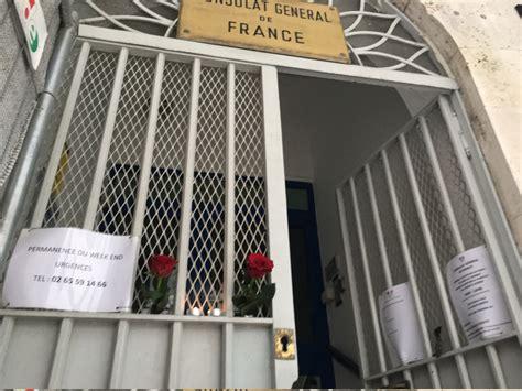 consolato francese di fiori e candele al consolato francese corriere it