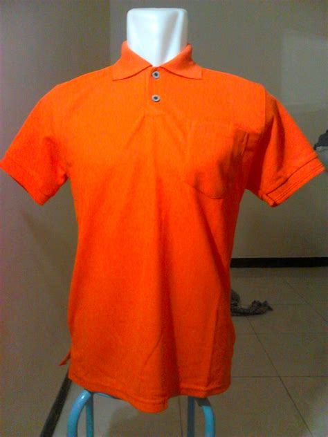 Tshirt Kaos B C jual kaos t shirt polos polo berkerah orange kaffah