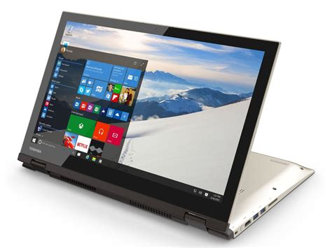 toshiba s newest portable pcs are windows 10 ready with cortana buttons windows central