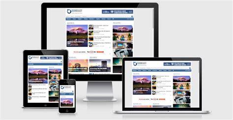 seo best blog template responsive untuk majalah berita