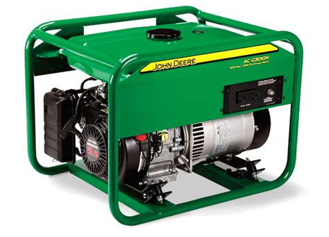 deere ac g3010h small frame generator agricultural