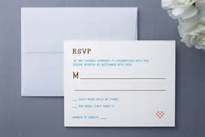 wedding rsvp wording how to uniquely word your wedding rsvp card rustic wedding chic