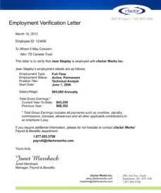 Employment Verification Letter Sample Salary sample salary verification letter pictures to pin on pinterest