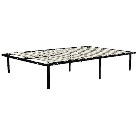 walmart bed frame queen wooden slat bed frame black walmart com