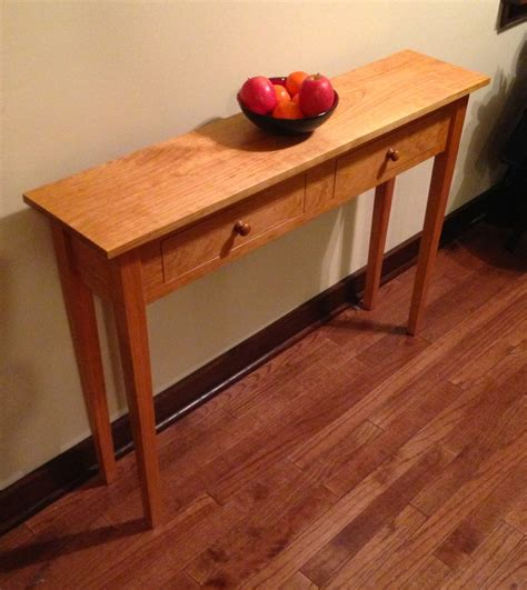 Shaker Style Sofa Table by Shaker Sofa Table Dcw Woodworks