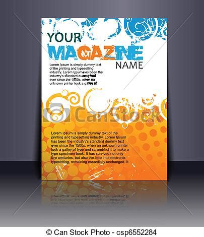 magazine layout vector free eps vector of magazine layout design template vector