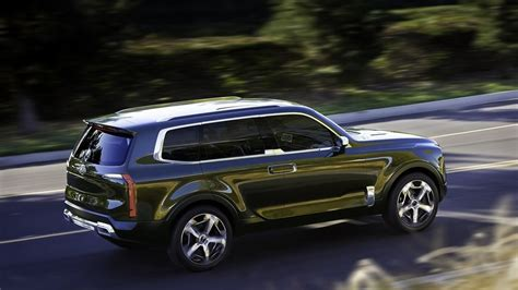 What Is The Largest Kia Suv Kia Telluride Concept Makes World Debut At American