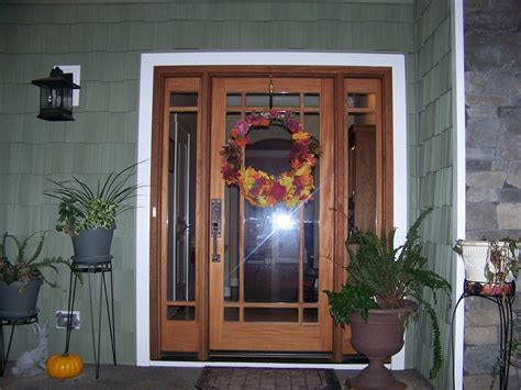 Craftsman Front Door With Sidelights Find Out Special Characteristic Of Craftsman Style Front Doors Door Stair Design