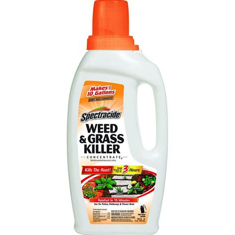 Killer For Patios by Spectracide And Grass Killer 32 Oz Concentrate Hg