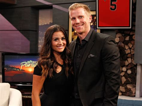 sean and catherine the bachelor s sean lowe catherine lowe celebrate 4 years