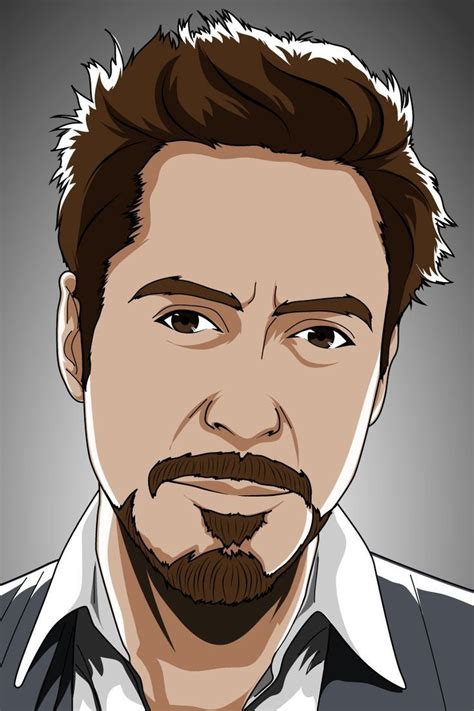 vector portrait cartoon vector portrait check   gigs
