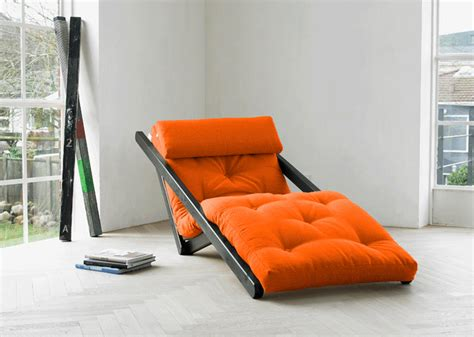 futon giapponesi chaiselongue letto figo in pino scandinavo con futon