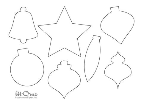 60 Best Christmas Felt Templates Images On Pinterest Felt Templates Felt Patterns And Feltro Template Of Ornament