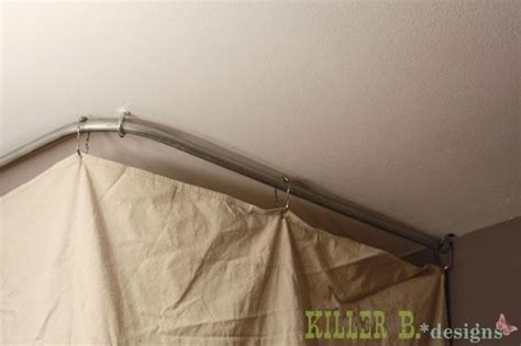 how to hang curtains from the ceiling how to hang a curtain from the ceiling diy decorating