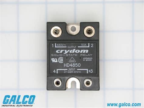 Crydom Ha4850 hd4850 crydom solid state relays galco industrial