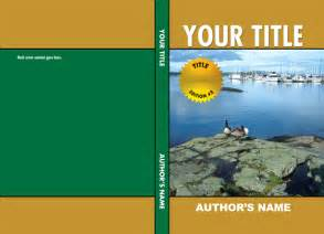 book cover templates free book cover page template