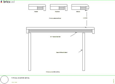Kitchen Jobs Resume by Typical Counter Detail Aia Cad Details Zipped Into
