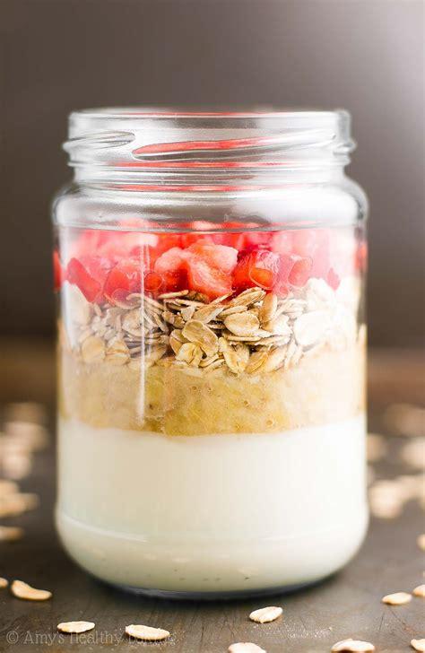 protein overnight oats strawberry banana bread protein overnight oats s