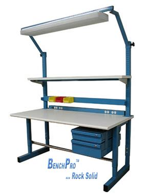 manufacturing work benches benchpro esd workbenches top quality industrial esd