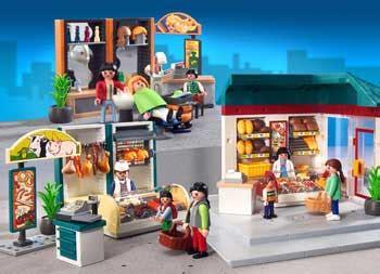 bureau de poste playmobil vieenville