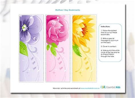 printable bookmarks mother s day bookmark printable images gallery category page 5