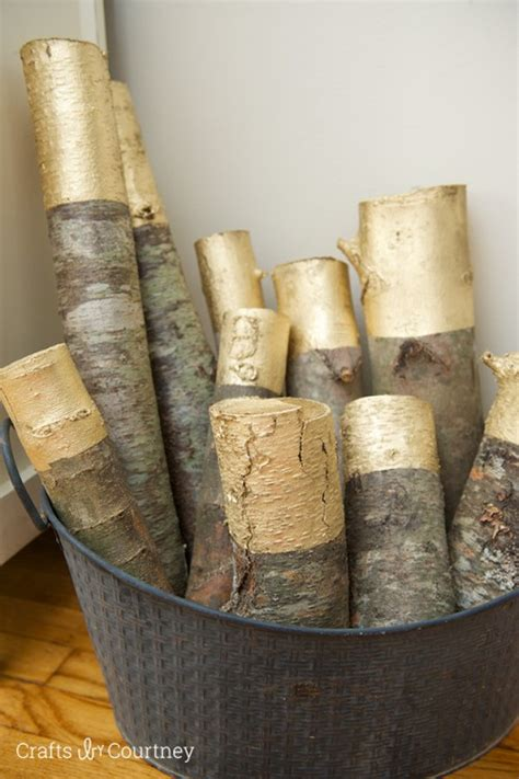 11 rustic diy log decorations and furniture pieces shelterness