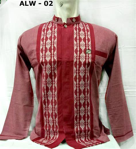 Harga Kemeja Merk Exclusive gambar baju muslim pria baju koko lengan panjang model