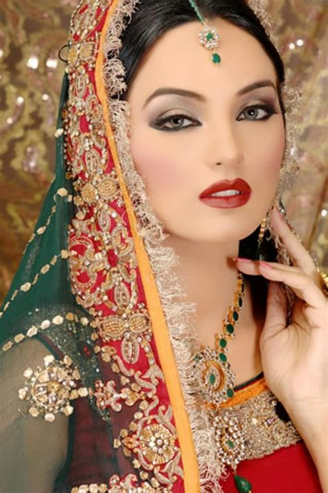 Hx Glamor Dress Momkids New indian dulhan new look makeup ideas 2014 for image