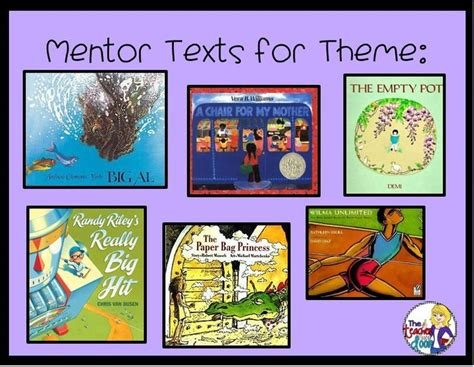 list of picture books to teach theme 17 best images about teaching reading plot conflict