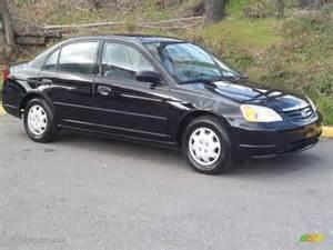 nighthawk black pearl 2002 honda civic dx sedan exterior