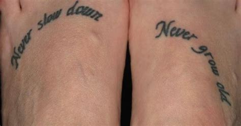 tom petty tattoos quot never never grow quot tom petty the