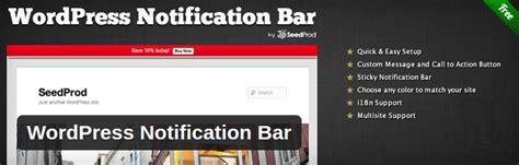 wordpress top bar plugin 7 top notification bar plugins for wordpress thetorquemag