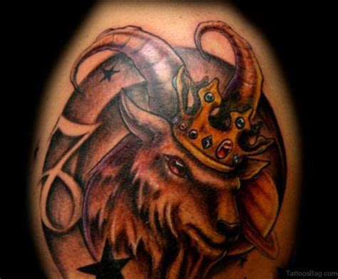 aries sign tattoo 52 zodiac aries tattoos on shoulder