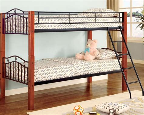 coaster furniture bunk bed coaster furniture twin over twin bunk bed haskell co2248