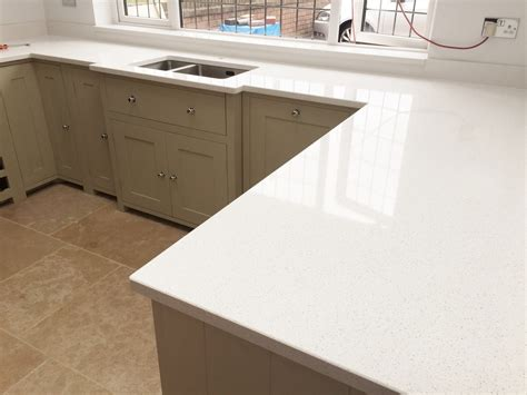 White Kitchen Cabinets With White Countertops by Gallery The Marble Warehouse