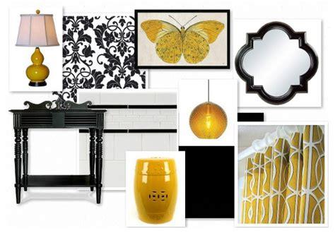 yellow and black bathroom accessories j adore decor black and yellow bathroom