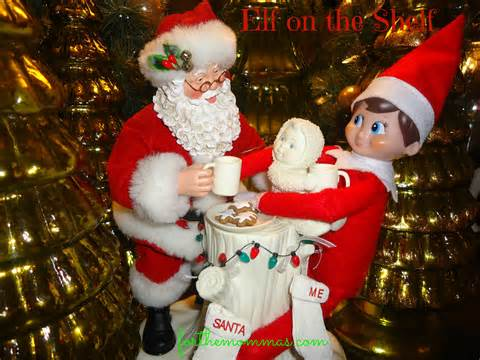 On The Shelf And Santa Picture by On The Shelf Top Secret Meeting With Santa