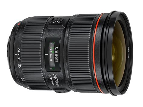 canon frame canon renews frame lenses with 24 70mm f2 8 ii and