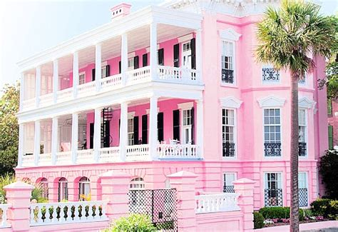 the pink house charleston real life malibu barbie house interesting designs from