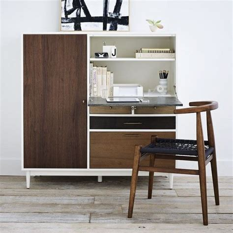 West Elm Small Desk Patchwork Contemporary Desks And Hutches By West Elm Spending Money On