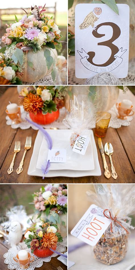 8 Ideas For An Owl You Wedding by Owl You Forever Wedding