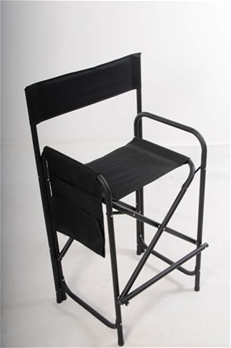 High Directors Chair by High Aluminium Frame Directors Chair Painting Chair