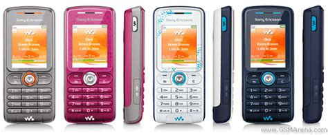 Handphone Vodafone sony ericsson w200 pictures official photos