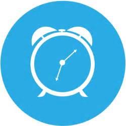 round clock icon free vector in adobe illustrator ai ai