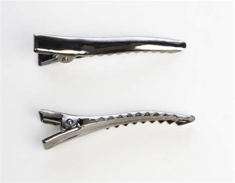 alligator hair clip pewter metal alligator hair hair accessories